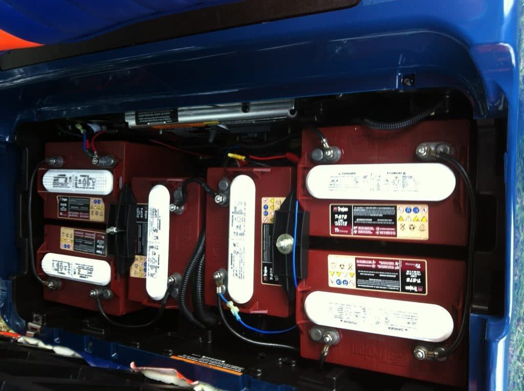 Determining the Age of Golf Cart Batteries