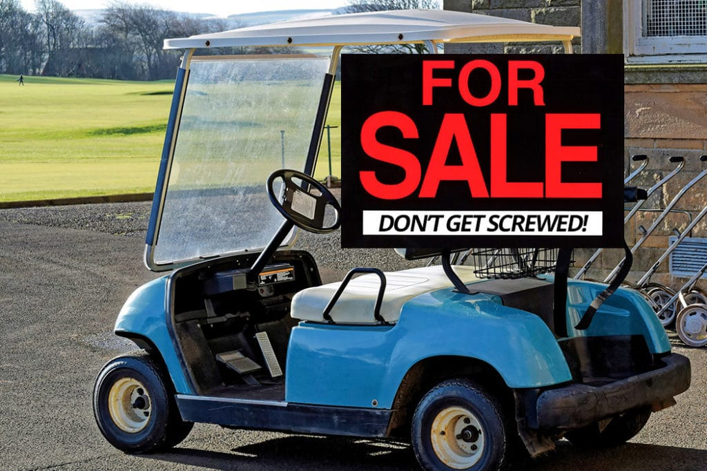 5 Things To Look For When Buying A Used Electric Golf Cart Golf Cart Resource