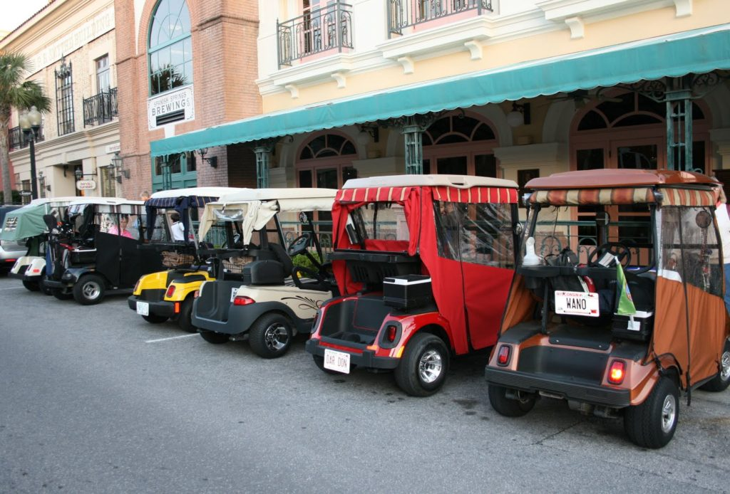 Image result for golf carts in the villages florida