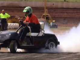 Super Fast Golf Cart