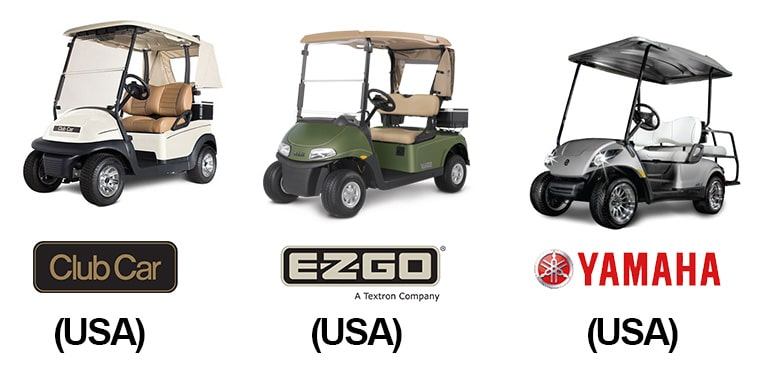 American Made Golf CArts