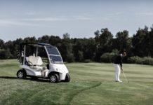 history of garia golf carts