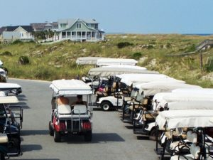 Golf Carts on Bald Head Island