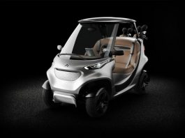 Garia Mercedes Golf Cart