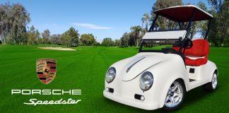 Caddyshack Porsche Speedster Golf Cart