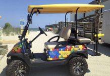 Autism Golf Cart