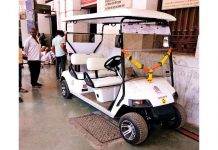 Mumbai Golf Cart