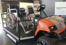 golf cart for disabilities