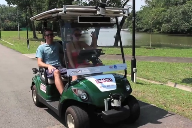 Self Driving Golf Carts