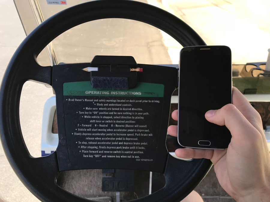 Georgia Hands Free Law Golf Carts