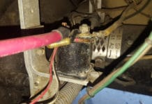 Symptoms of a bad solenoid on a golf cart