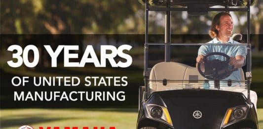 Yamaha 30 Years of United States Manufacturing
