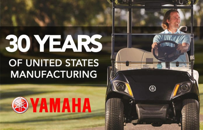 Yamaha 30 Years of United States Manufacturing