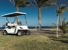 golf cart sidewalk
