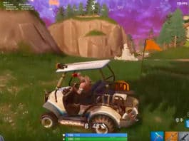 Golf Cart Fortnite