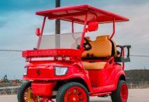 Excessive Carts Ferrari Golf Cart