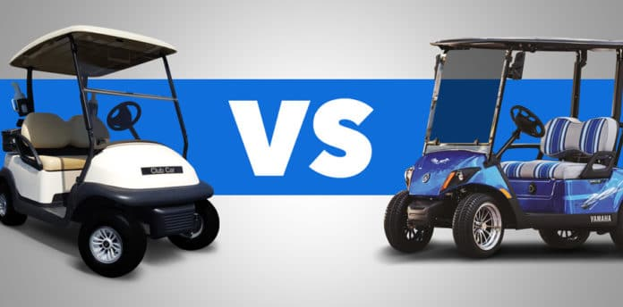 A Comparison Club Car Gas Vs Yamaha Gas Golf Cart Resource