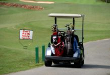 Golf Cart Safety on the Golf Course
