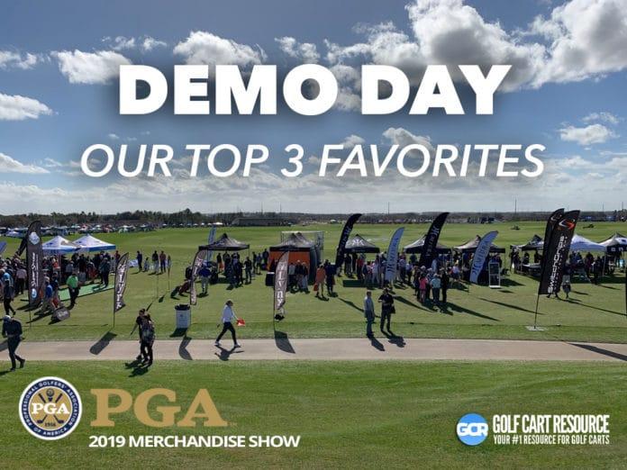2019 PGA Merchandise Show Demo Day