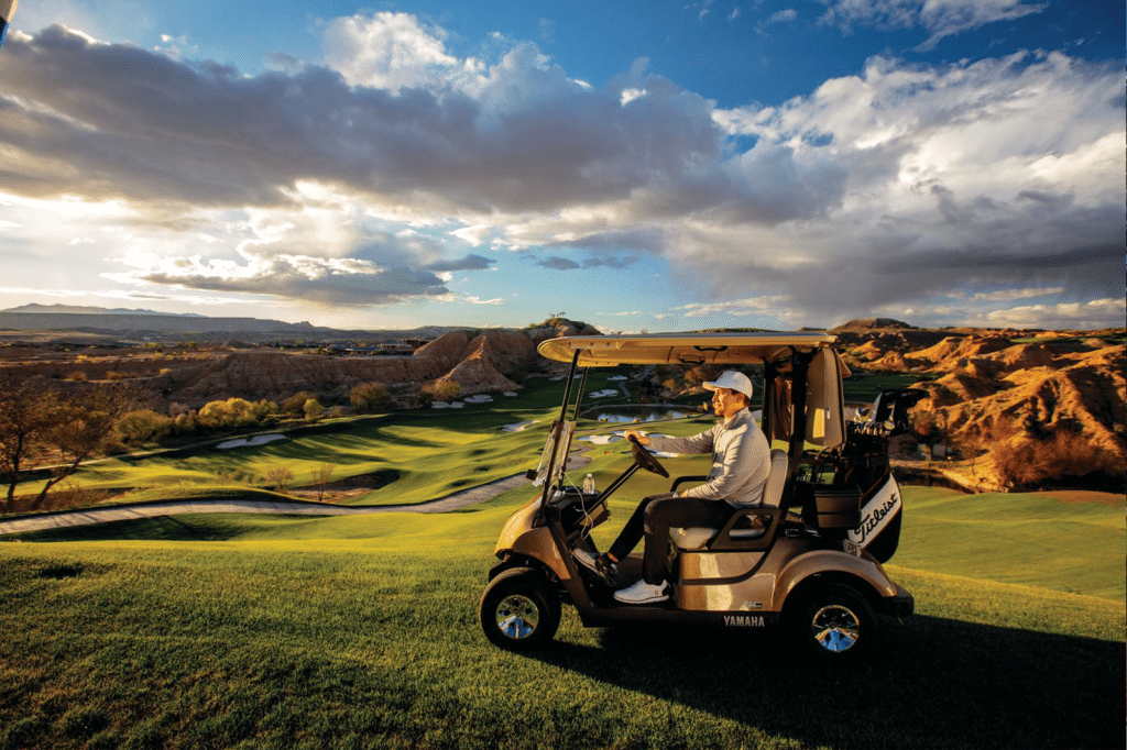 2020 Bronze Metallic Yamaha Golf Cart