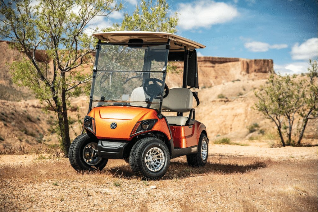 2020 Atomic Flame Yamaha Golf Cart