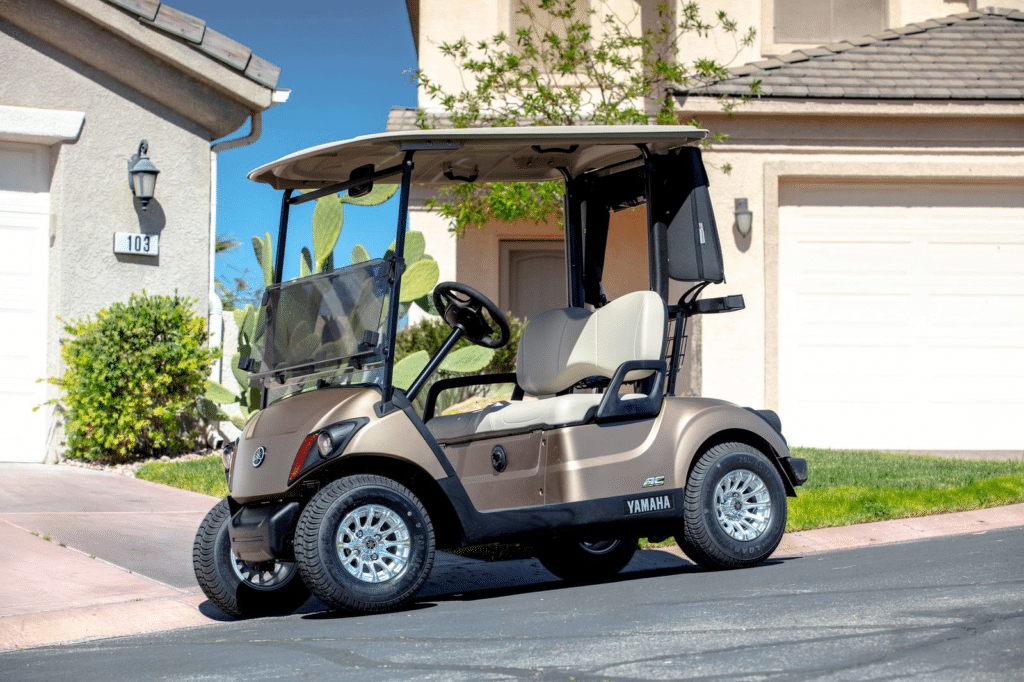2020 Mica Matte Yamaha Golf Cart